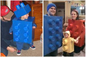 Disfraz carnaval Lego