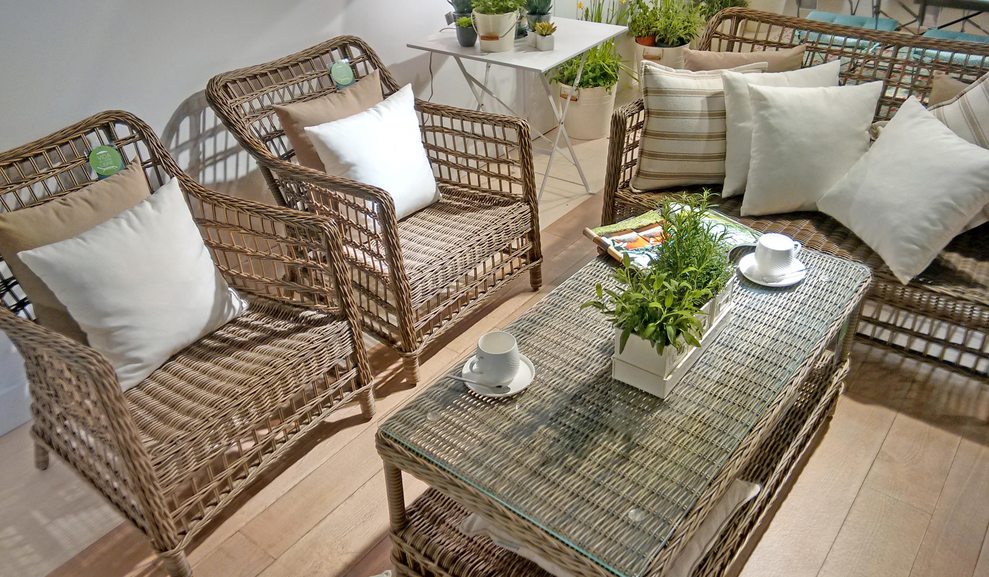 Conoces la nueva colecci n outdoor de el corte ingl s for Muebles terraza el corte ingles