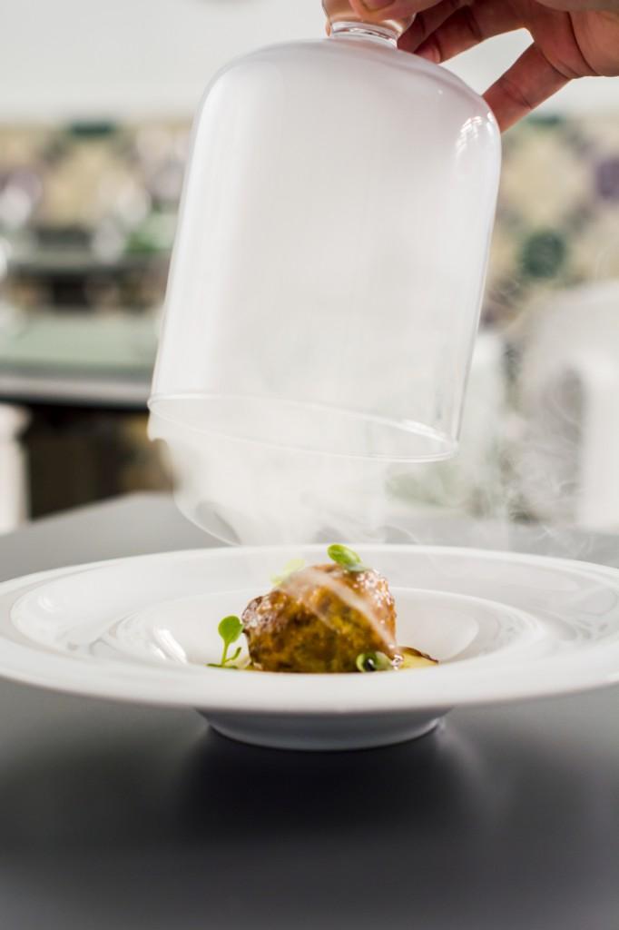 Albóndiga del restaurante Bacira
