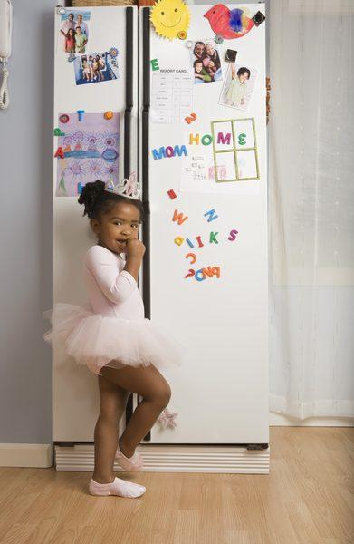 utilizar el frigorífico como tablón de notas