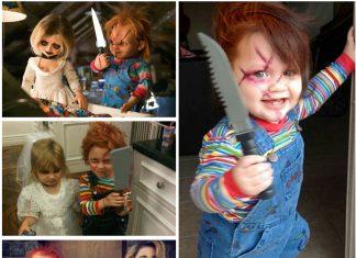 Disfraz Halloween Chuky