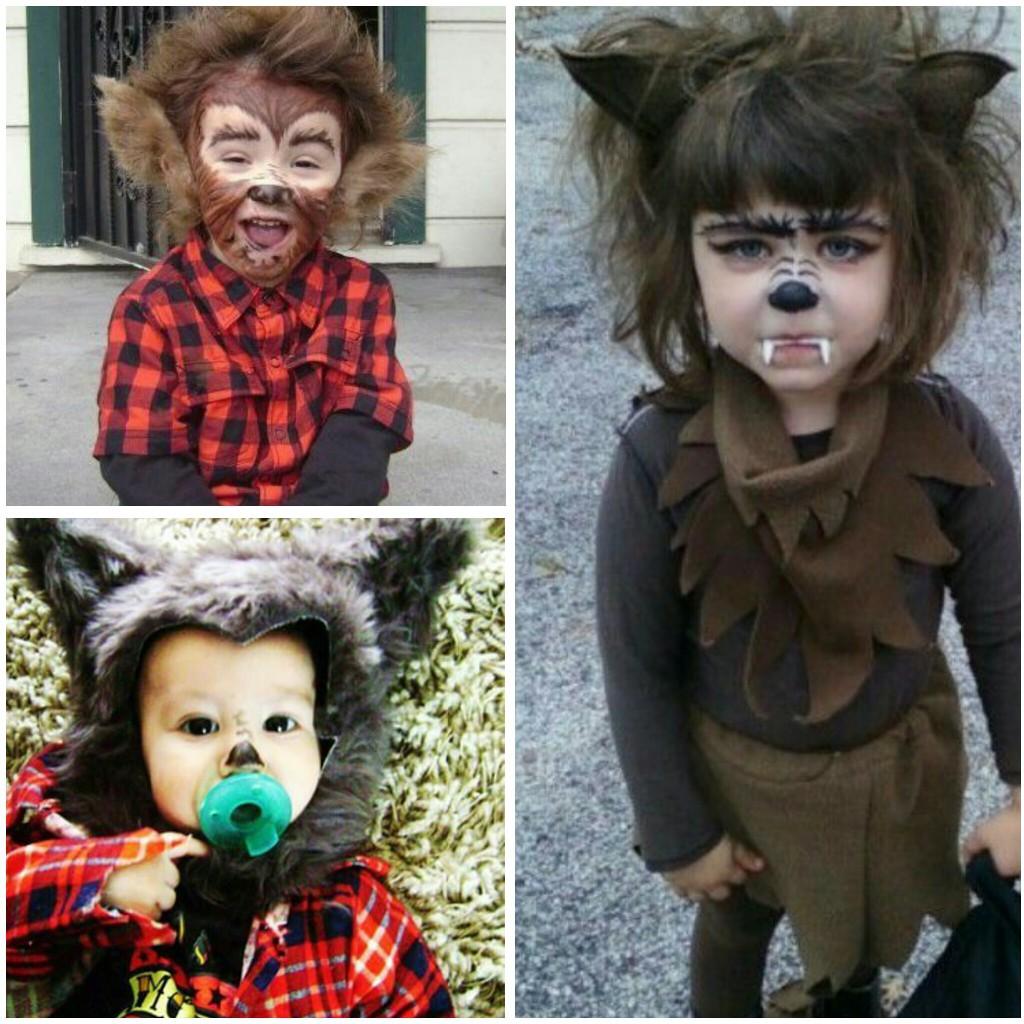 disfraces de halloween niños lobo