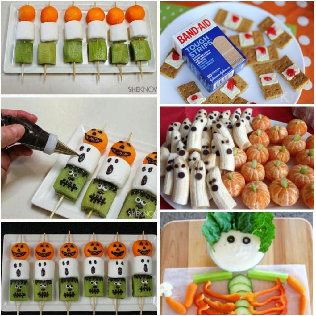 Aperitivos para Halloween