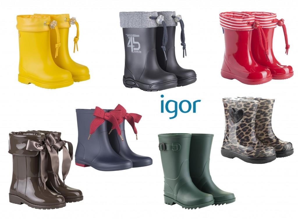 botas de agua igor