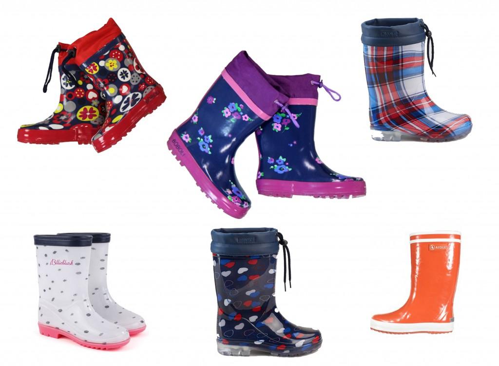 botas de agua marcas variadas