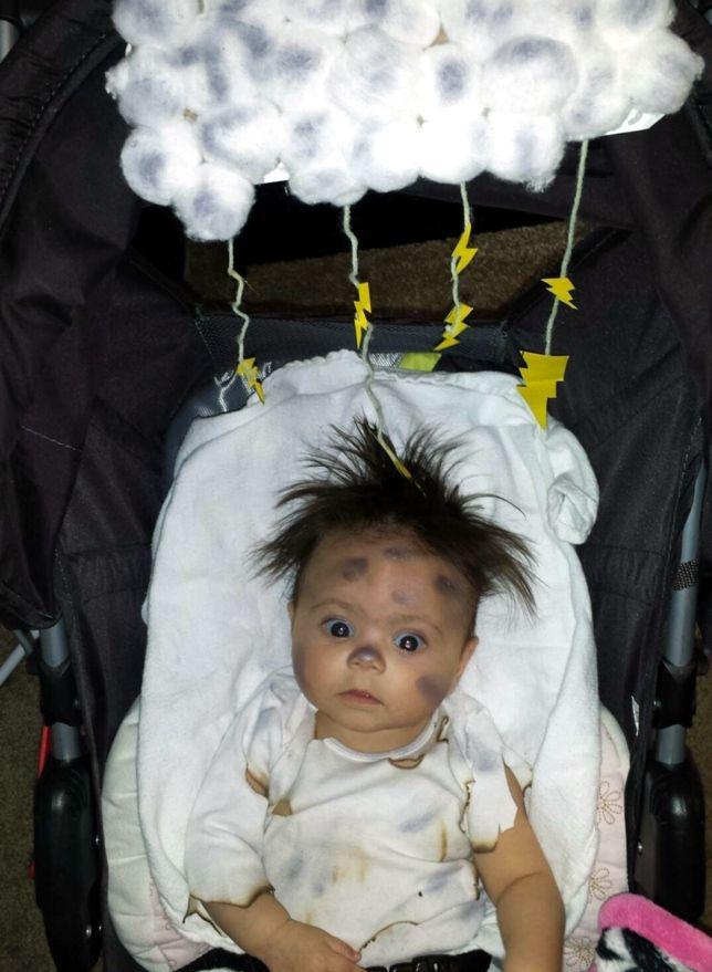 Disfraces de halloween f ciles diy urban mom - Como hacer un disfraz de bebe ...