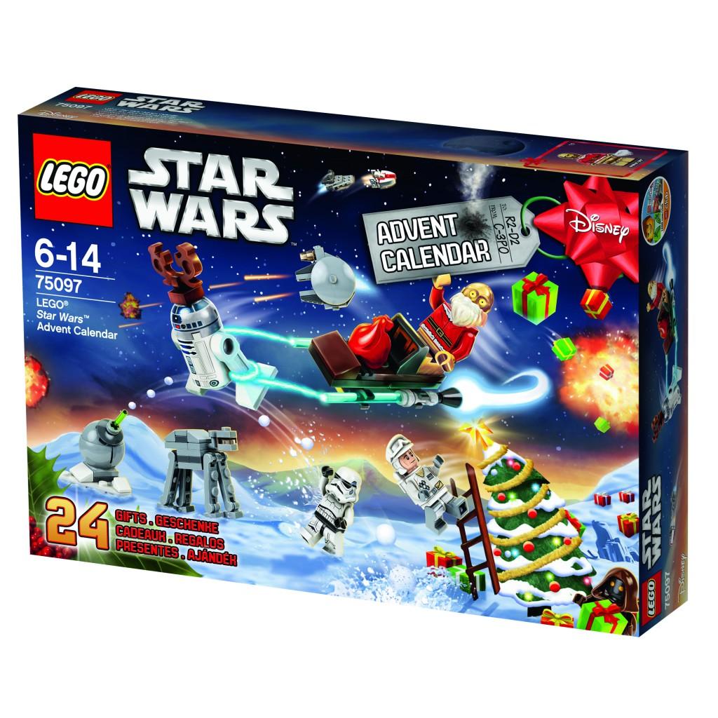Calendarios adviento Lego
