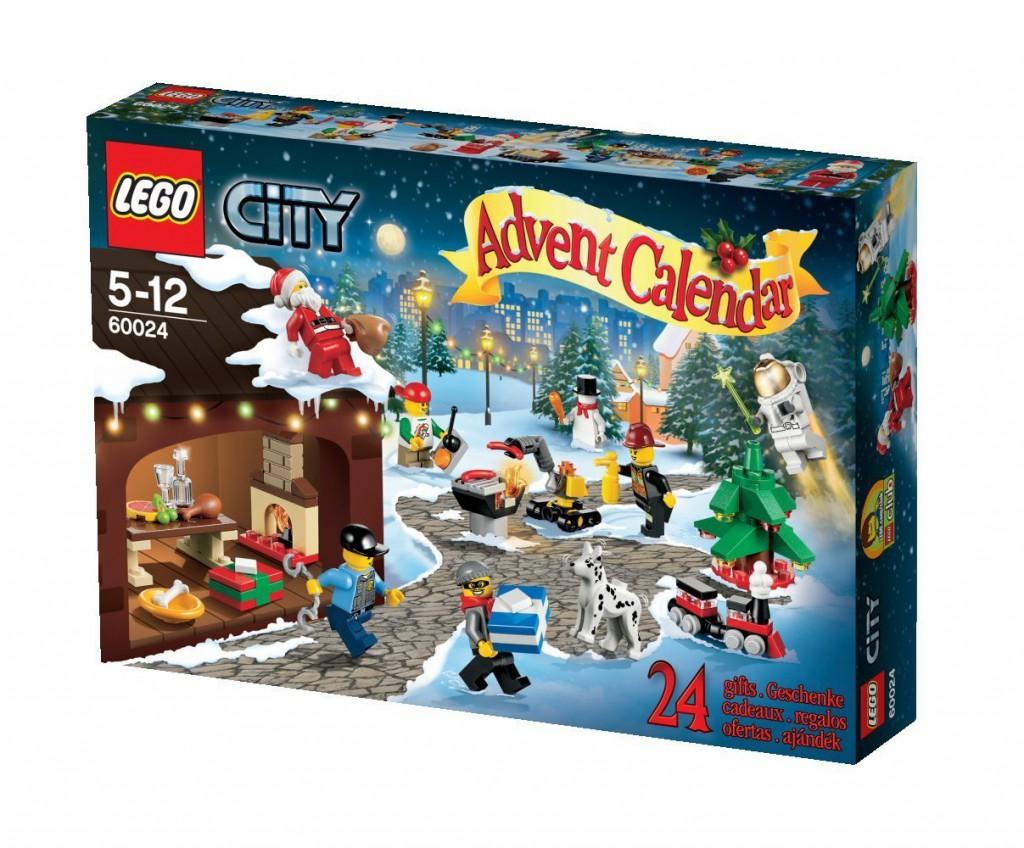 Calendarios adviento Lego City Twon