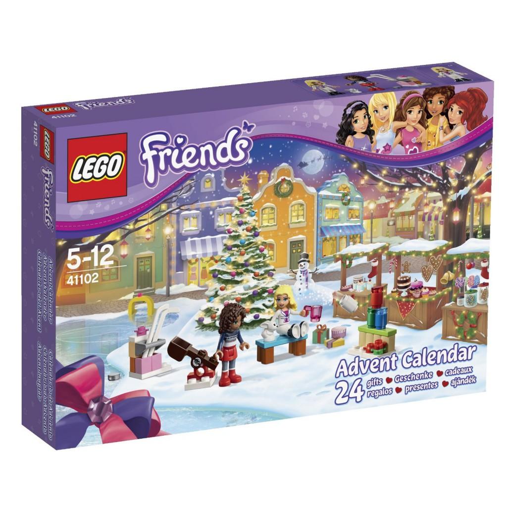 Calendarios adviento Lego friends