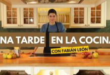 Fabian León curso cocina