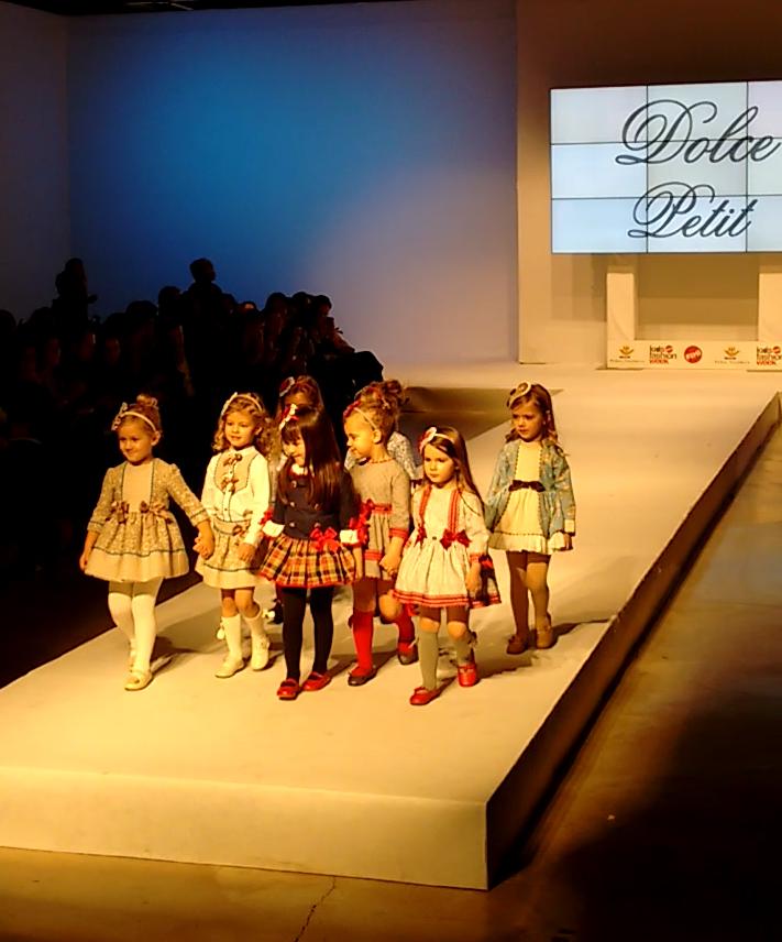 Dolce Petit  moda infantil otoño invierno 2016