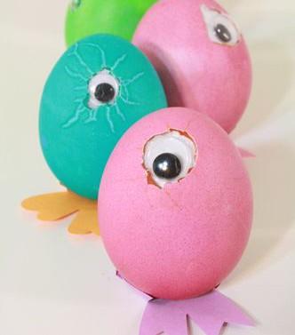 Huevos de Pascua infantiles