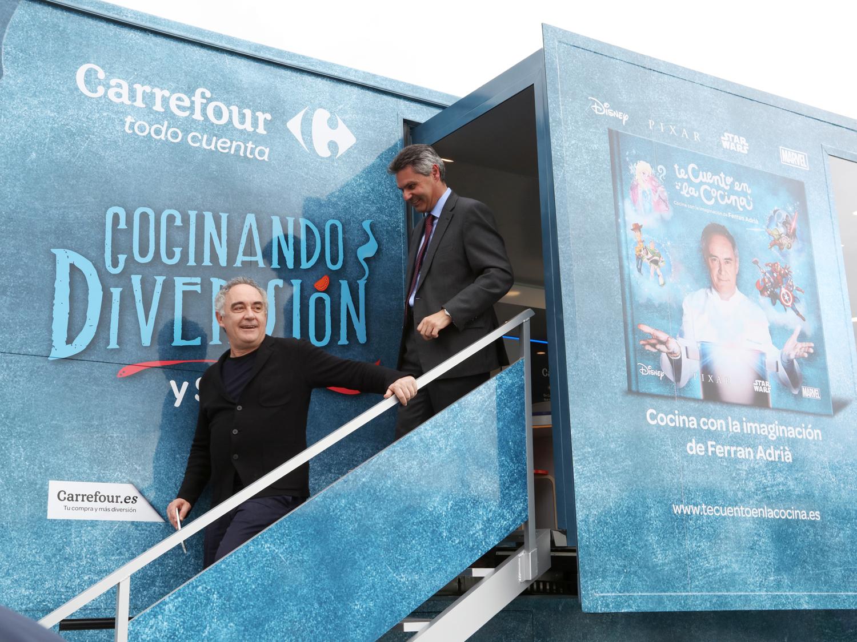 Caravana de la salud Carrefour Te Cuento en la Cocina