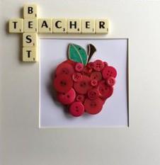 Regalos para profesores tarjetas