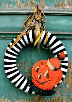 decoración de Halloween puertas-2