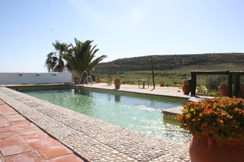 Hotel en Almería, piscina Cortijo Los Malenos
