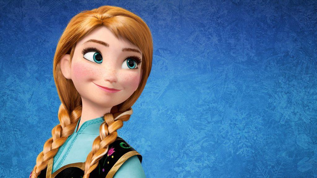Antiprincesas Ana de Frozen