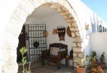 Hotel el Almería, entrada Cortijo Los Malenos