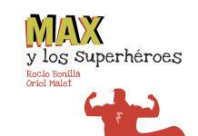 libros para mamá Max y los superhéroes