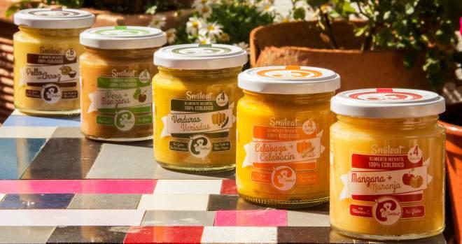 Smileat produce tarritos infantiles ecológicos.