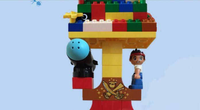 Torre Lego Duplo