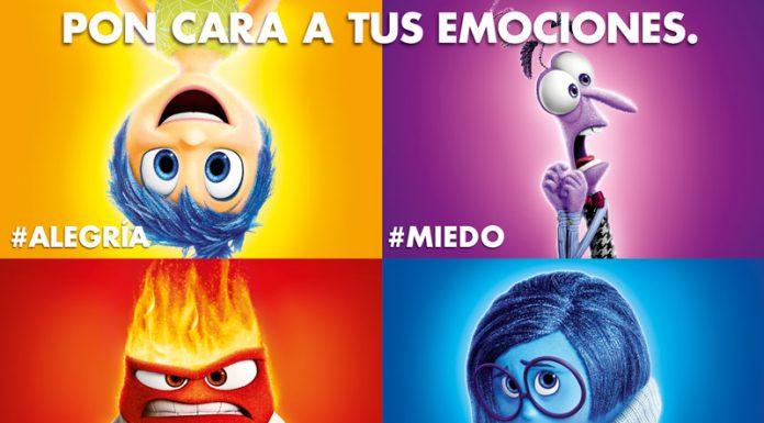 Del Revés (Inside out) Disney Pixar