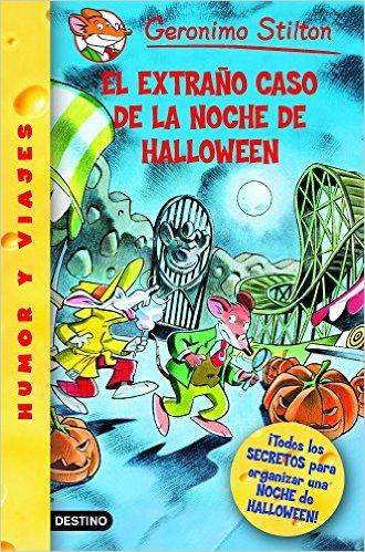 Stilton libros infantiles para Halloween