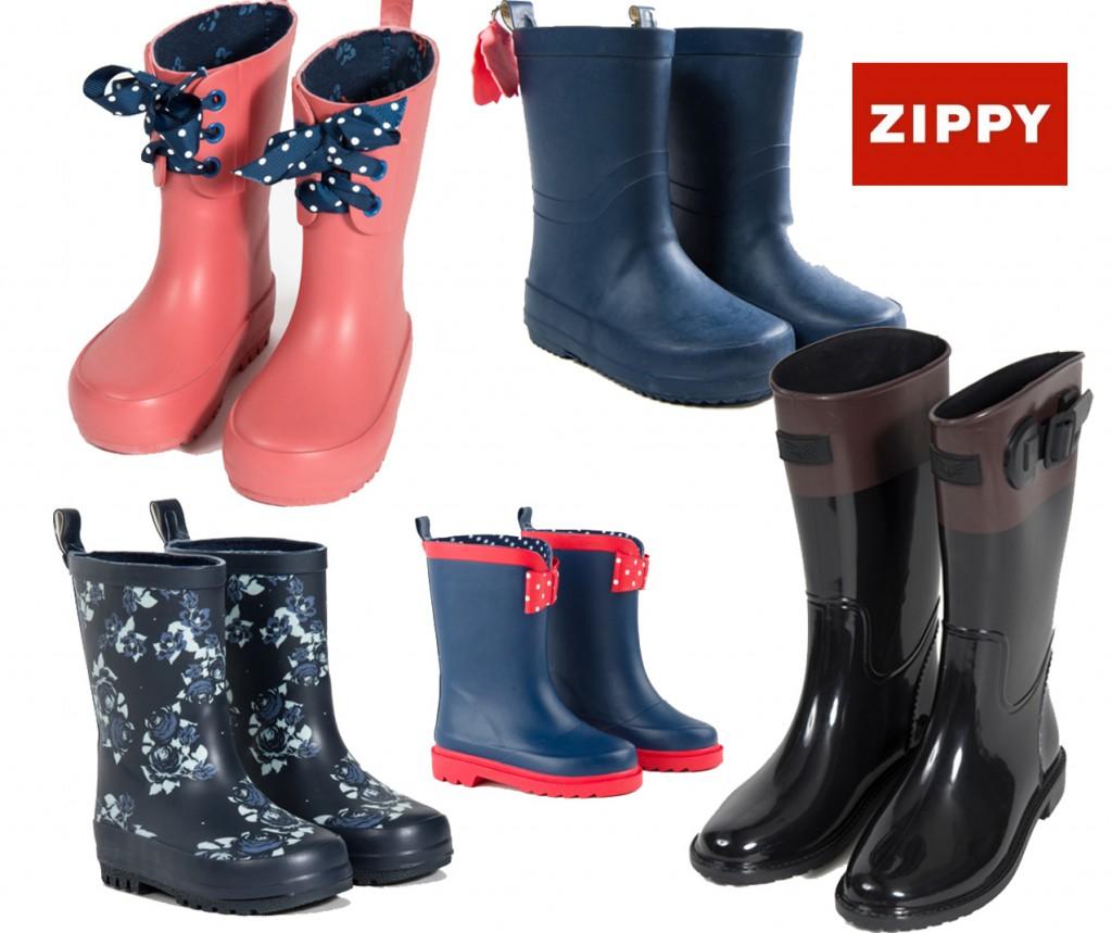 botas de agua zippy