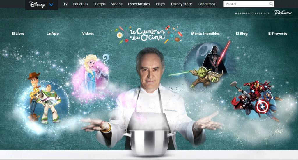 Te cuento en la cocina web