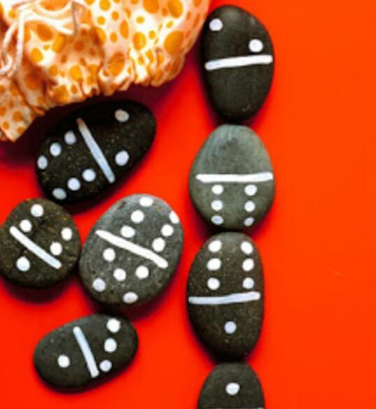 dominó piedras