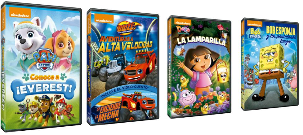 ganador del sorteo-DVD-Nickelodeon