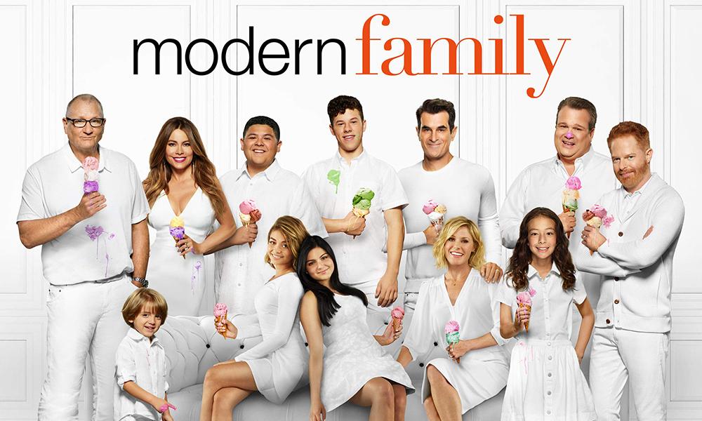 San Valentín de series Modern Family