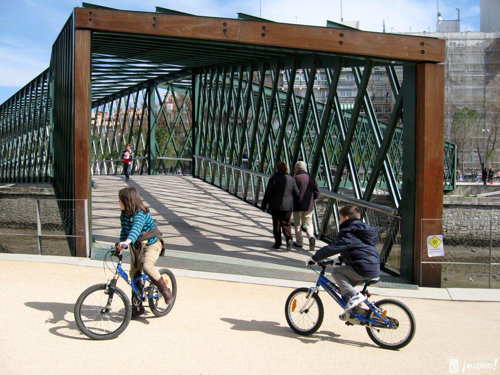 ciclistas Madrid Río