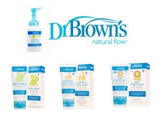 Dr. brown cuida la piel del bebe