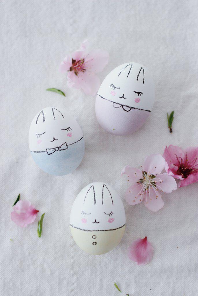Ideas Bonitas Para Decorar Huevos De Pascua Urbanmom