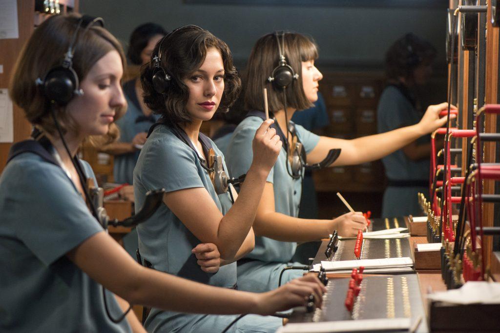 Rodaje Las Chicas del Cable