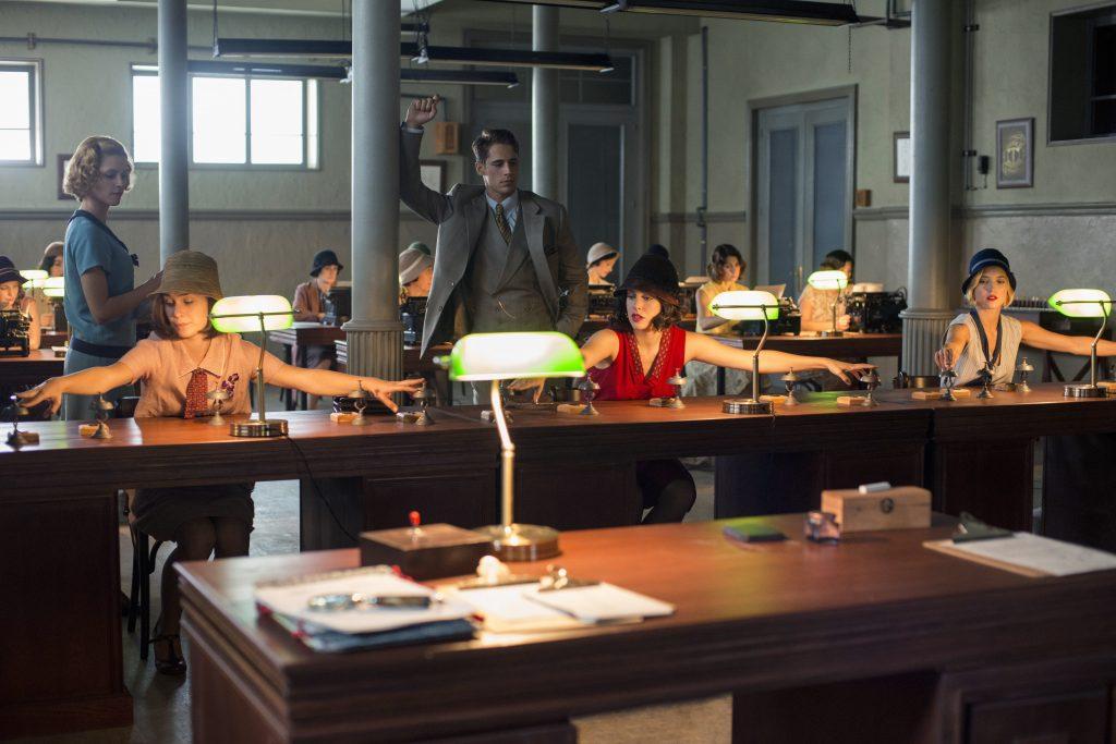Las Chicas del Cable escena oficina