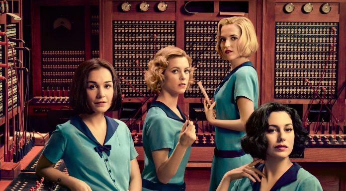 Cartel serie Netflix Las chicas del cable