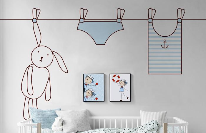 pixers habitación bebé ropa