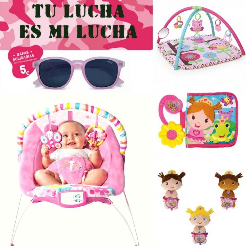 cancer de mama Pretty in Pink productos