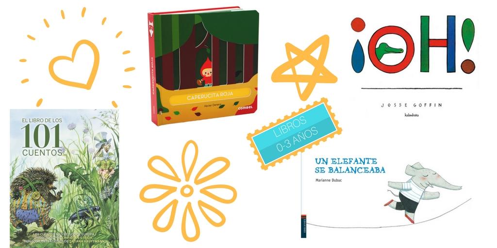 los mejores libros infantiles 0-3 años