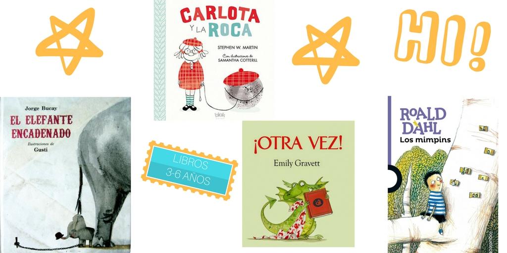 los mejores libros infantiles 3-6 años