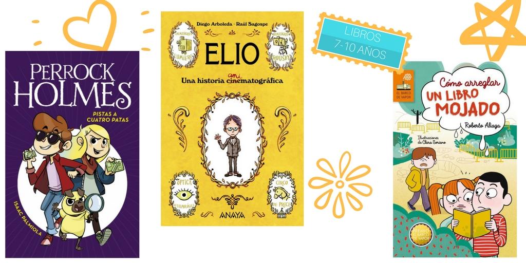 los mejores libros infantiles 7-10 años