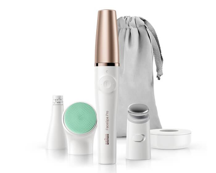 Sello de calidad Madresfera: Braun FaceSpa Pro