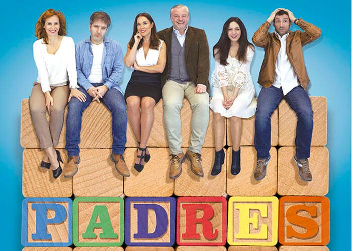 «Padres», una comedia con ludoteca para conciliar en Teatros Luchana