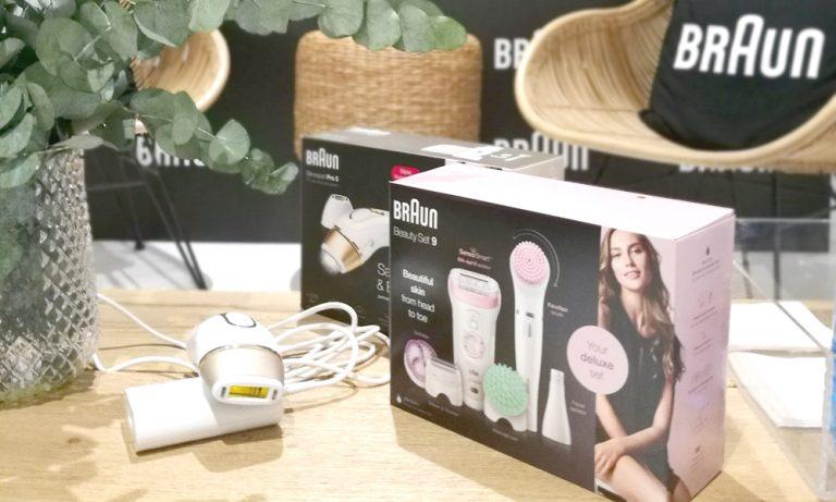 Depílate con los resultados de un centro de belleza con Braun SilkExpert Pro 5