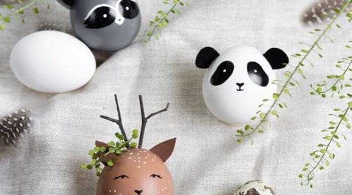 huevos de Pascua de animales 1
