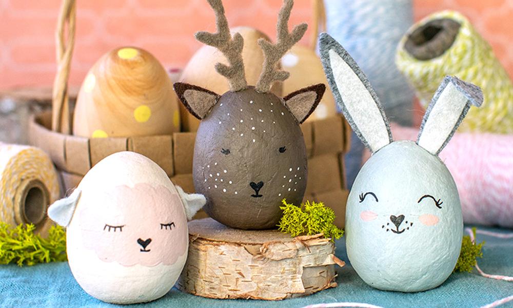 huevos de Pascua de animales 2
