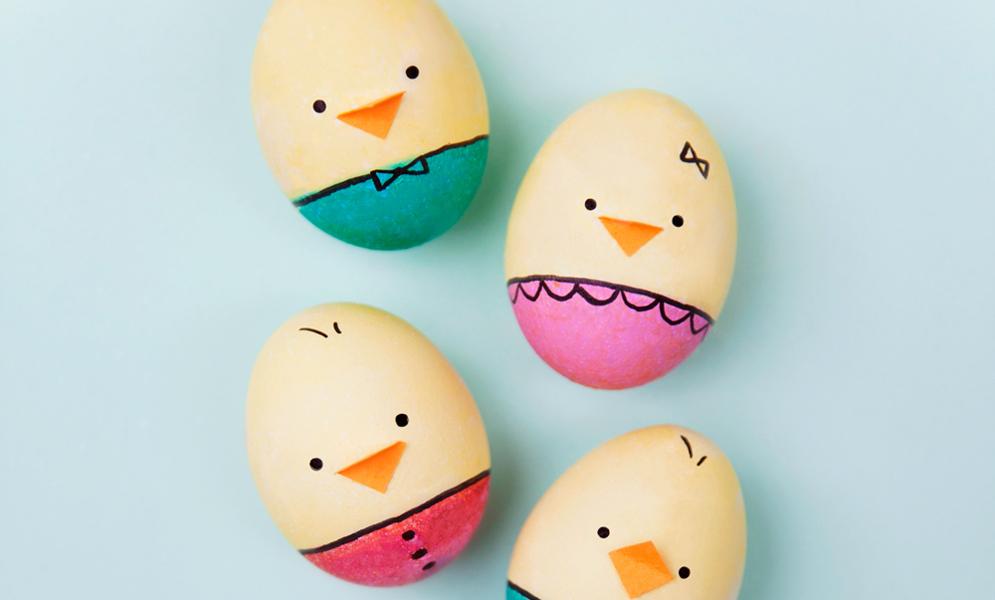 huevos de Pascua de animales 6