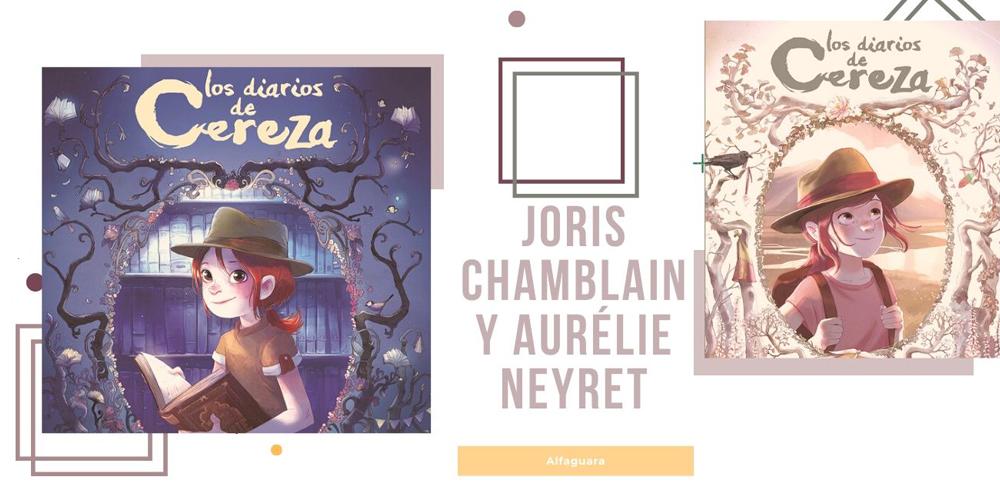 novela gráfica para niños Cereza